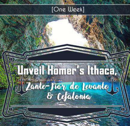 Unveil Homer's Ithaca, Ζante – Fior de Levante & Cefalonia
