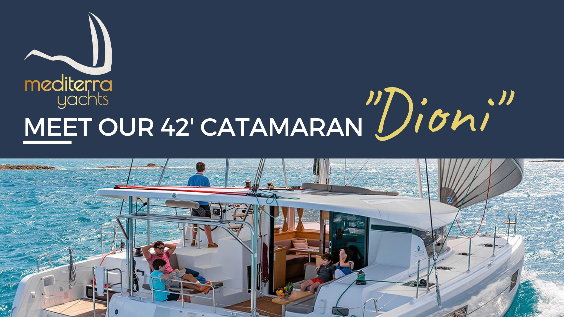 dioni catamaran lagoon rent