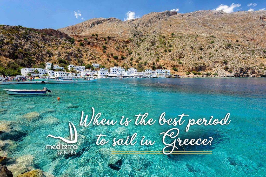 sail in greece with mediterra yachts